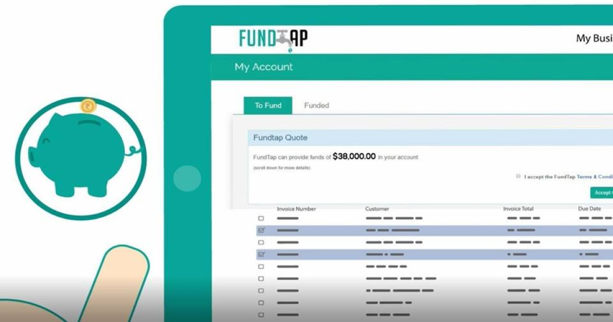 Upswot working with FundTap