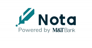 We've just signed an agreement with #Nota by M&T Bank